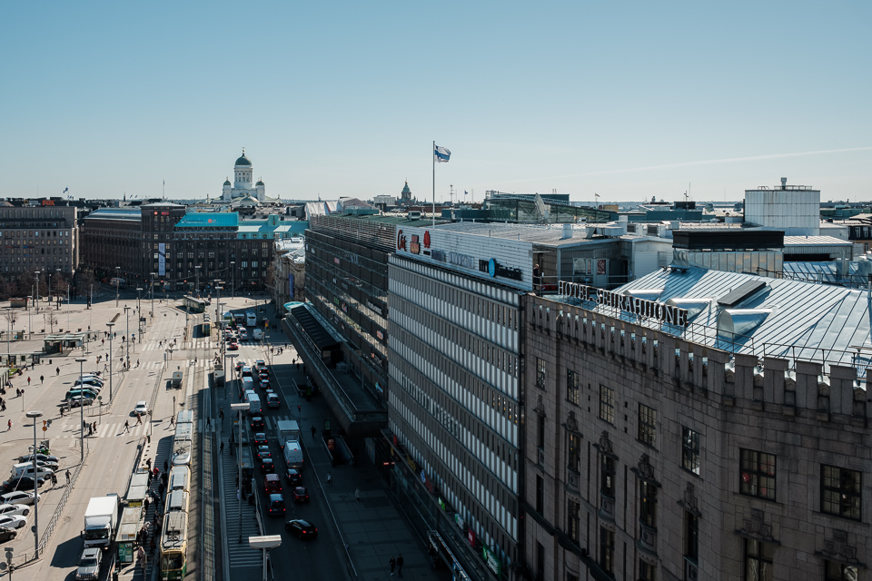 Helsinki city center