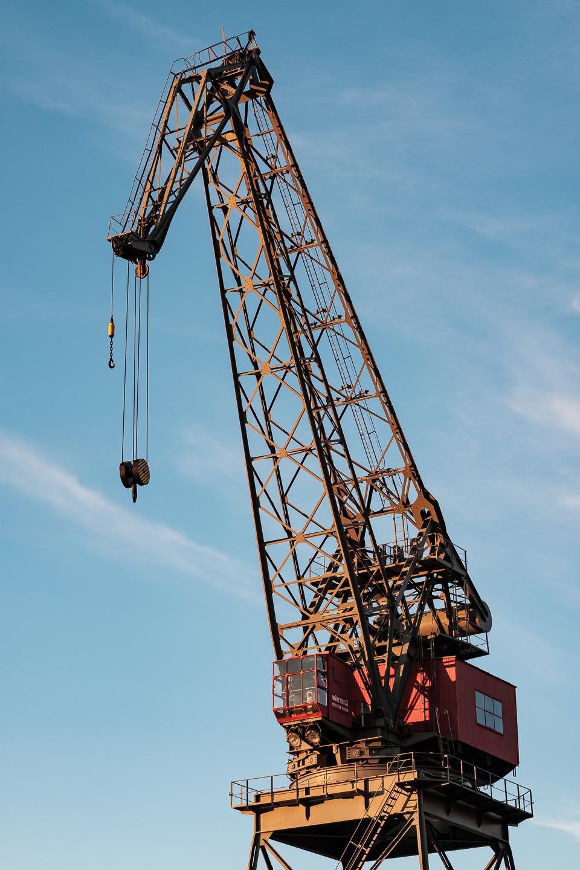 Wärtsilä crane