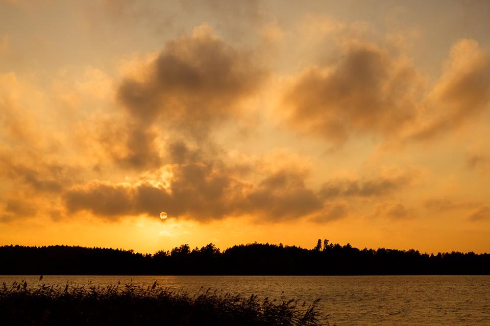 Sunset over Uittamo.